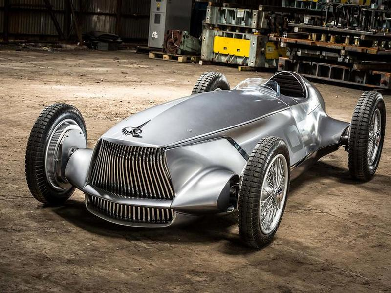 The Infiniti Prototype Racer Is Vintage Cool And Electric Modern