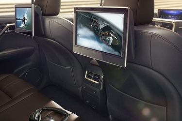 Great Vehicles with Available Rear Seat Entertainment
