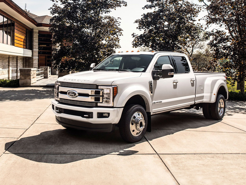 The 2018 Ford F Series Super Duty Limited 4x4 Hits The Six
