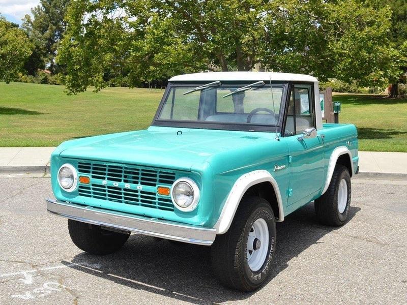 eBay Find: 1966 Ford Bronco Half Cab | Web2Carz