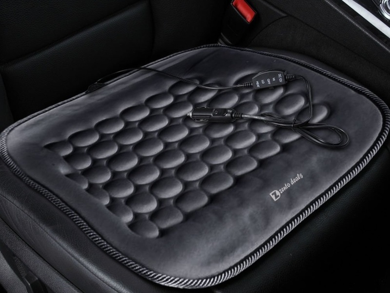 Gear Up: Portable Seat Heater Cushions | Web2Carz