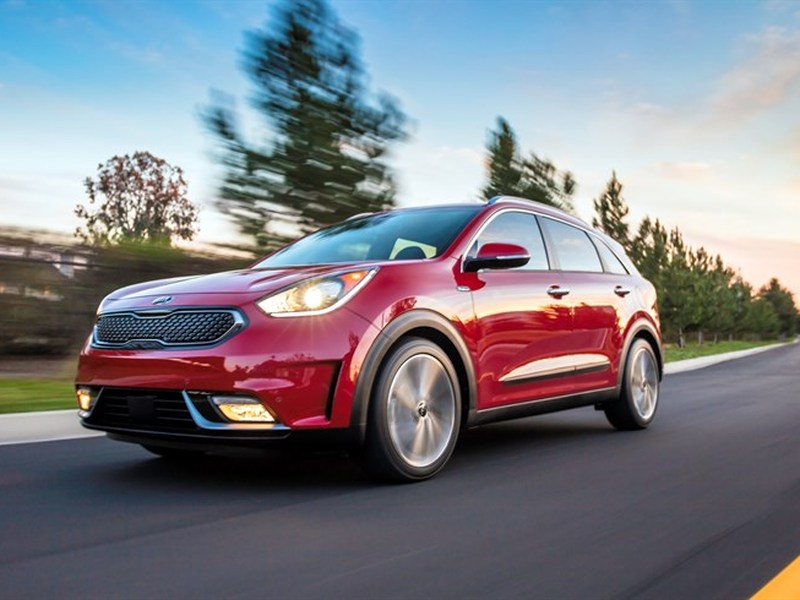 The Niro is a subcompact crossover but has the sleek lines of a wagon.