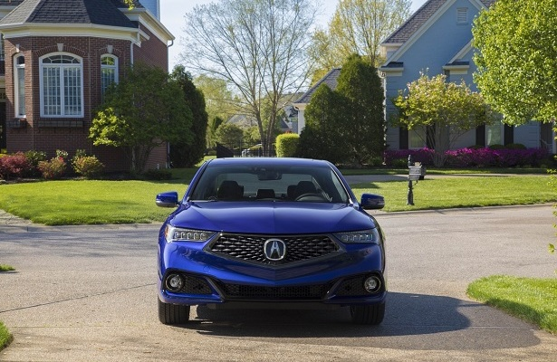 2018 Acura TLX A-Spec front