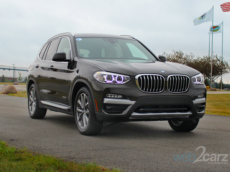we drive the 2018 bmw x3 web2carz. Black Bedroom Furniture Sets. Home Design Ideas