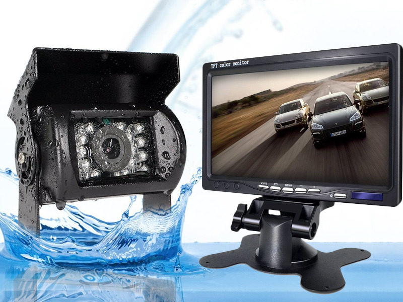 Modernize your car with an aftermarket backup camera.