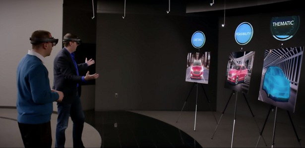 the future of car design is ford motor company u0026 39 s holograms