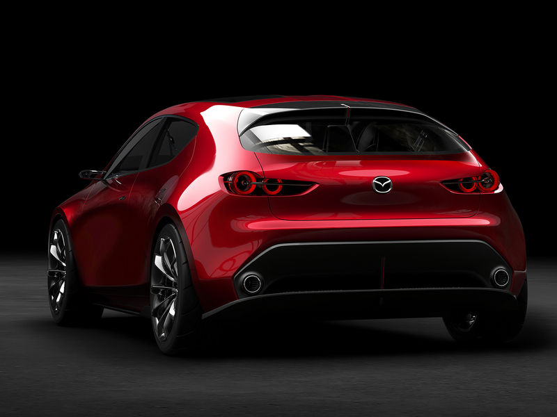 When others are overdoing things, Mazda goes sleek and sexy.