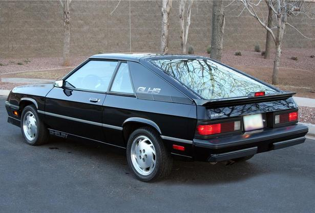 1987 Dodge Shelby Charger GLHS rear