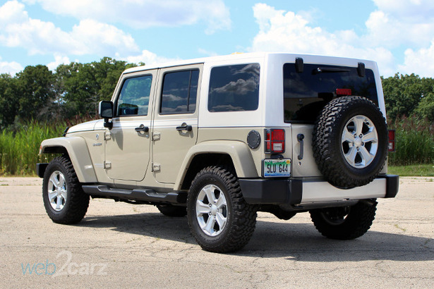 2017 Jeep Wrangler Unlimited Chief Review