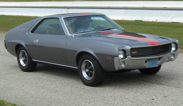 Someone Needs To Build A Compact Muscle Car Like The AMC AMX WebCarz - Old muscle cars