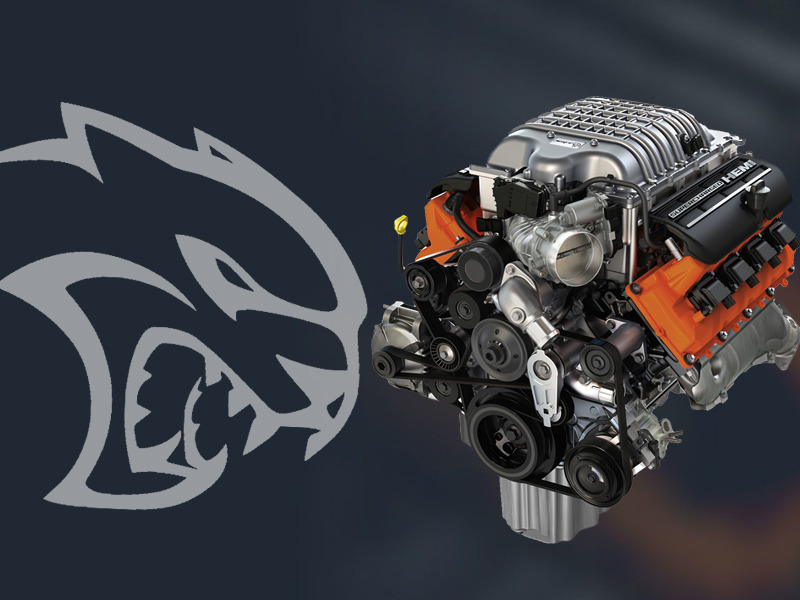 We'd like to put he Hellcat crate engine in just about everything.