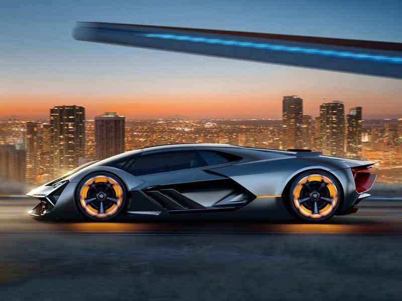 A supercar that's super technologically advanced.