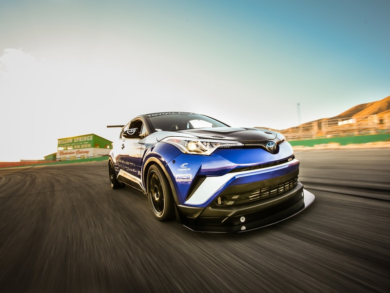 It takes 600 horsepower to make the Toyota C-HR cool.