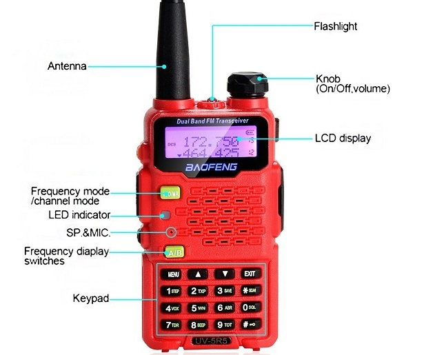 two way radio BaoFeng