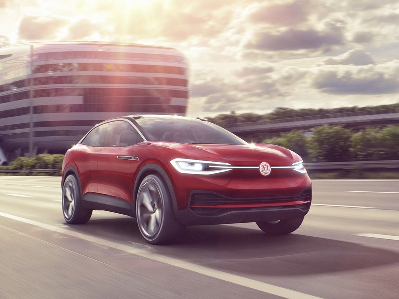 The Volkswagen I.D. Crozz Concept won't stay a concept for long.