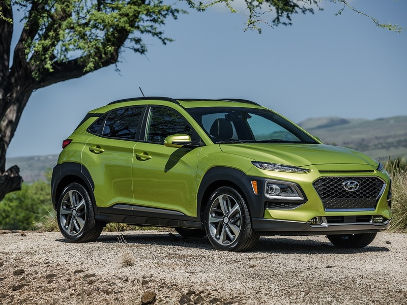 They Hyundai Kona is about more than those funky headlights.