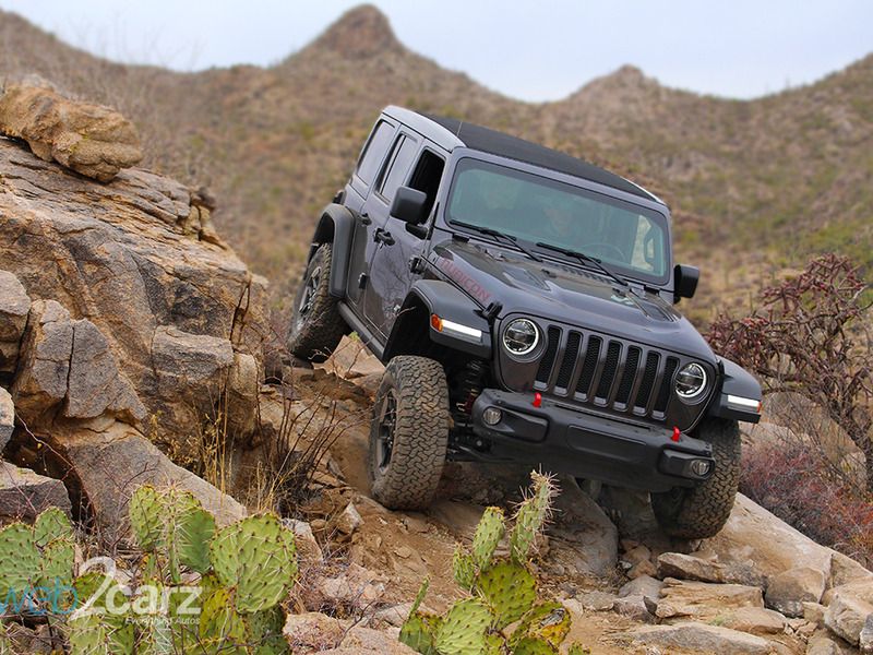 The new Jeep Wrangler isn't just good over rocks.