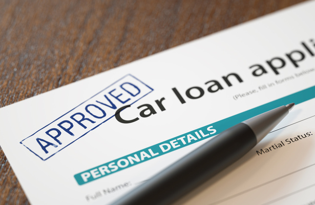 approved car loan application for someone with bad credit