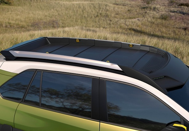Toyota FT-AC roof rack