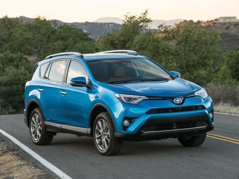 The RAV4 took the top spot for passenger vehicles in 2017.