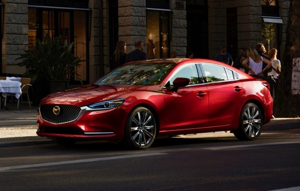 2018 Mazda6 red people