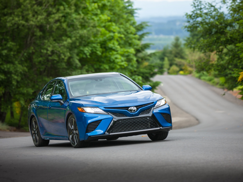The 2018 Toyota Camry isn't the only car with standard adaptive cruise control.