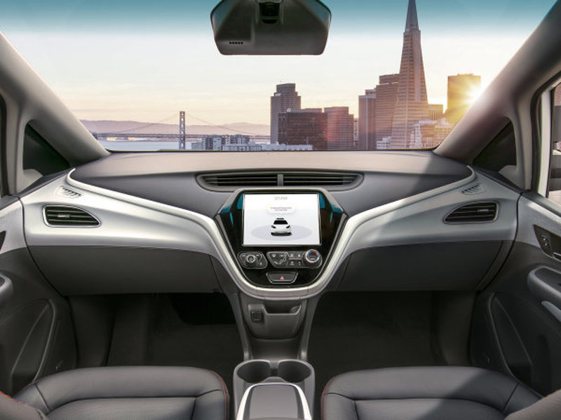 gm plans to test a driverless car with no controls whatsoever web2carz. Black Bedroom Furniture Sets. Home Design Ideas