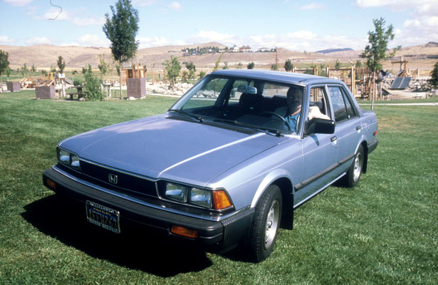 1982 honda accord sedan