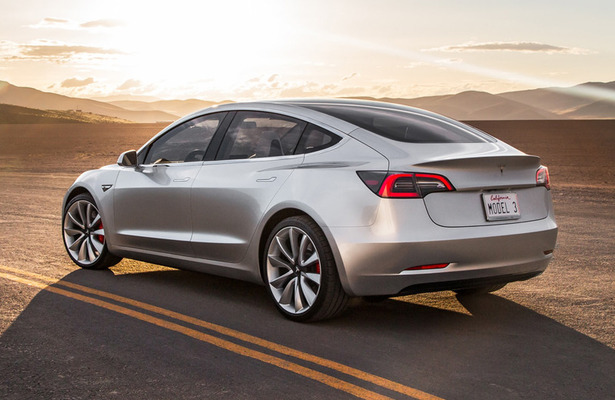 Tesla model 3 production still lags