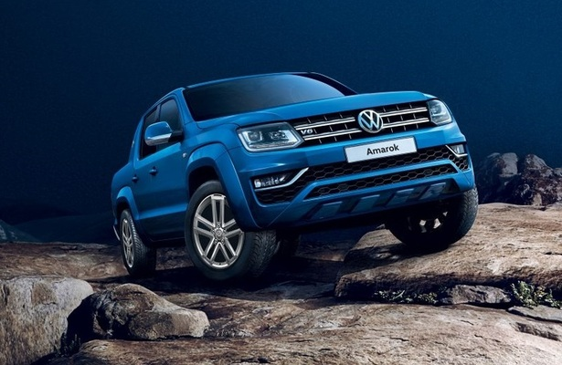 Volkswagen amarok in blue coming to the u.s.