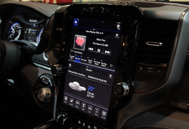 2019 Ram 1500 infotainment screen
