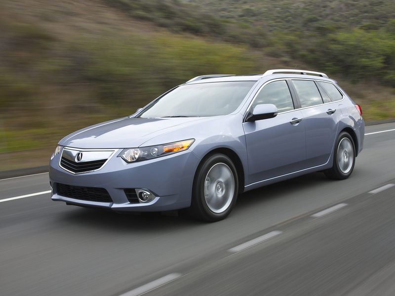 The Acura TSX Sport Wagon deserved a longer life.