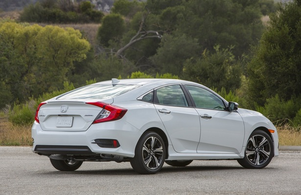 Honda Civic sedan rear view