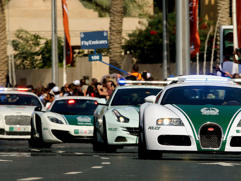 Dubai Has Some Fancy New Police Cars To Boost Their Exotic Fleet - Sports cars vs police