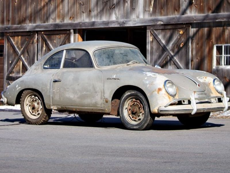 Rare 1957 Porsche 356A Barn Find is Rusty But Exciting | Web2Carz