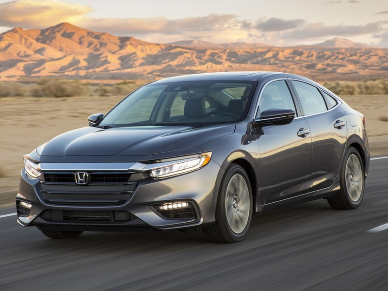 Honda's Insight is an efficient and good-looking hybrid machine.