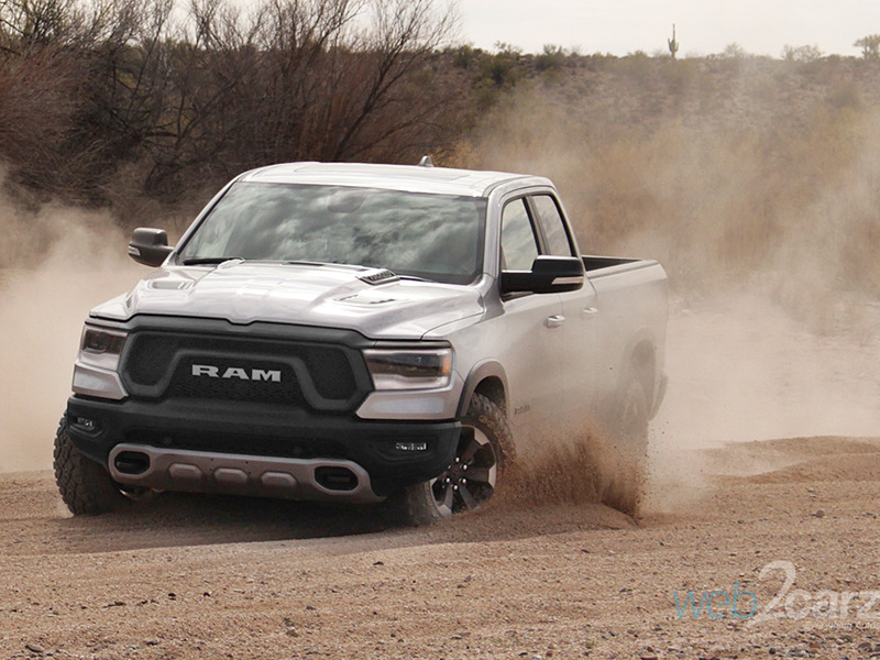 We got a little rowdy in the new 2019 Ram 1500.