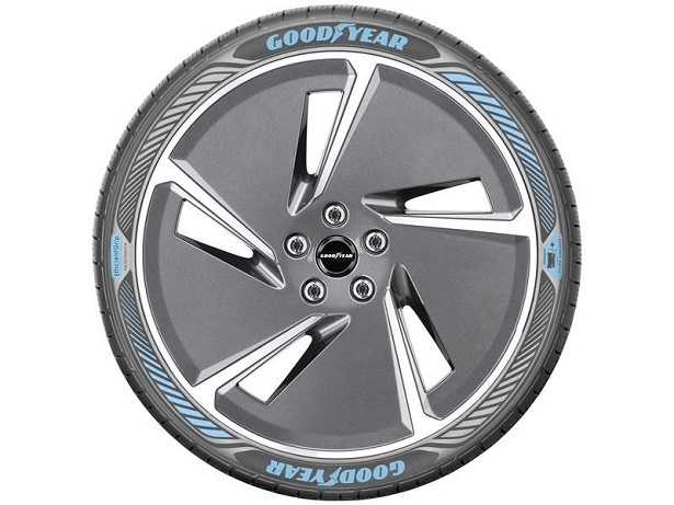goodyear efficient grip with electric drive technology tire side view full