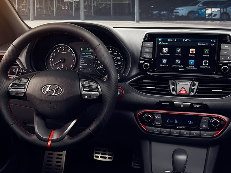 The new 2018 Hyundai Elantra GT's system is better than ones on pricier cars.