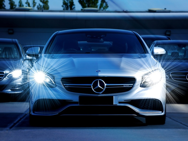 Illuminate your path with a set of powerful LED headlights.