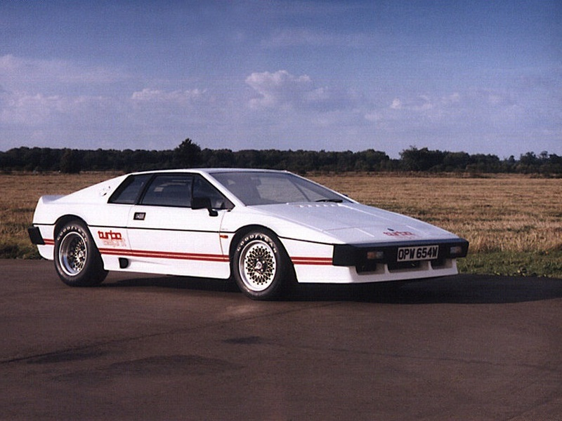 Legends: Lotus Esprit Turbo | Web2Carz