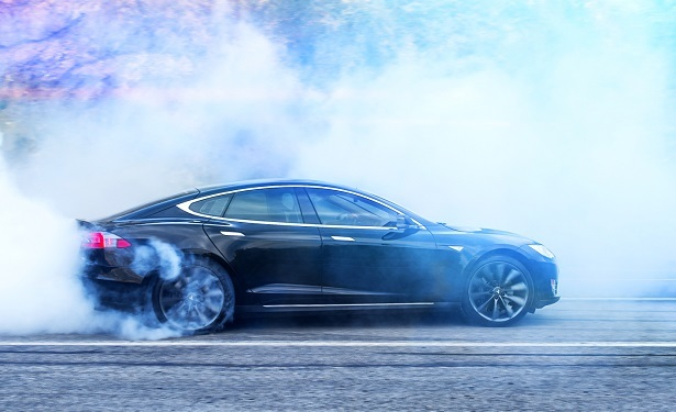 telsa model s burnout