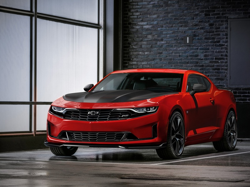 The 2019 Chevrolet Camaro gets a new look.