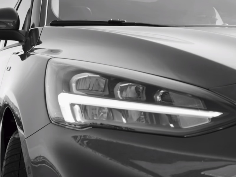 Do we see a little bit of Volvo & Tesla headlight inspiration?