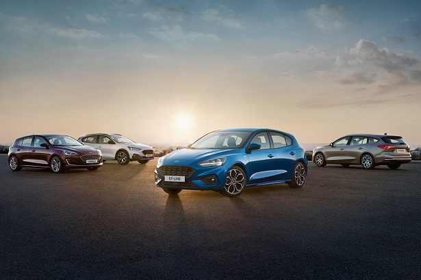 2019 ford focus family of cars