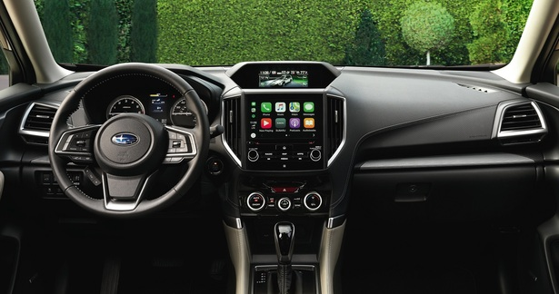 2019 Subaru Forester infotainment system