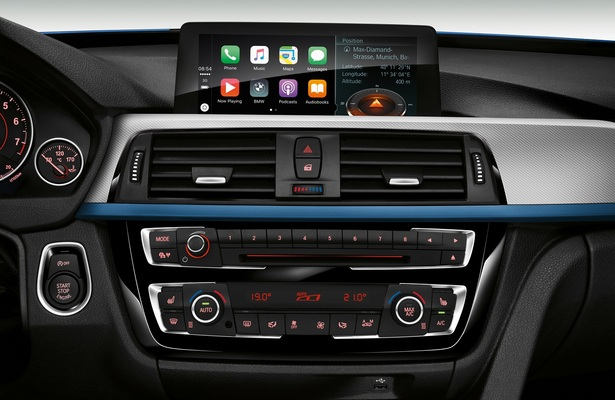 BMW Apple CarPlay integration