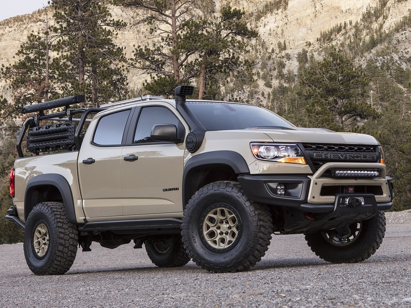 This is what the Chevy Colorado ZR2 Bison could look like.