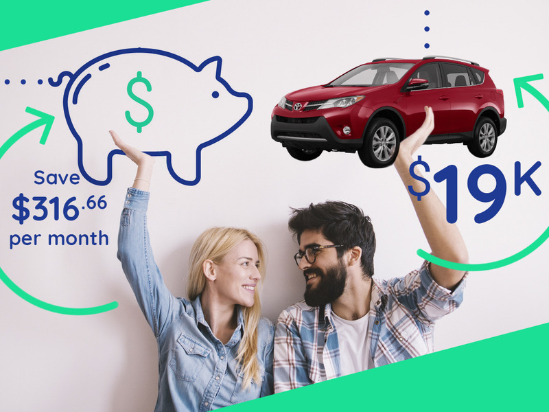 Saving up to buy a car is all about building good habits