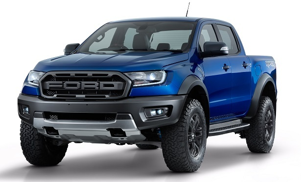 Ford Ranger Raptor front end